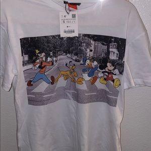 Zara Mickey Mouse shirt